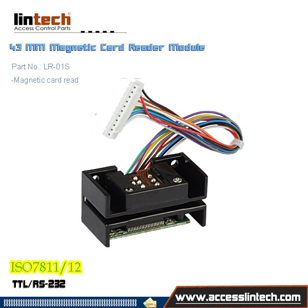 43mm TTL Magnetic Card Reader