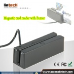 Magnetic strip card reader with Buzzer Built-in